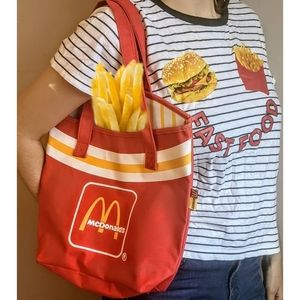 Vintage Rare McDonald's French Fry Tote Bag